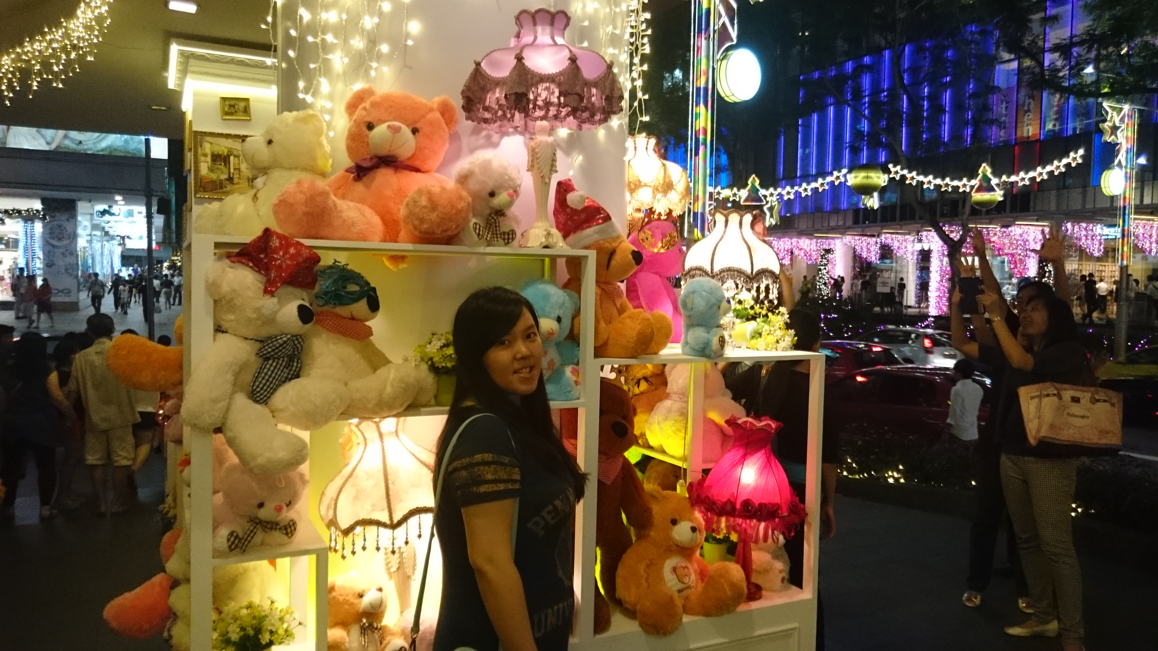 Orchard Centrepoint Xmas Bears
