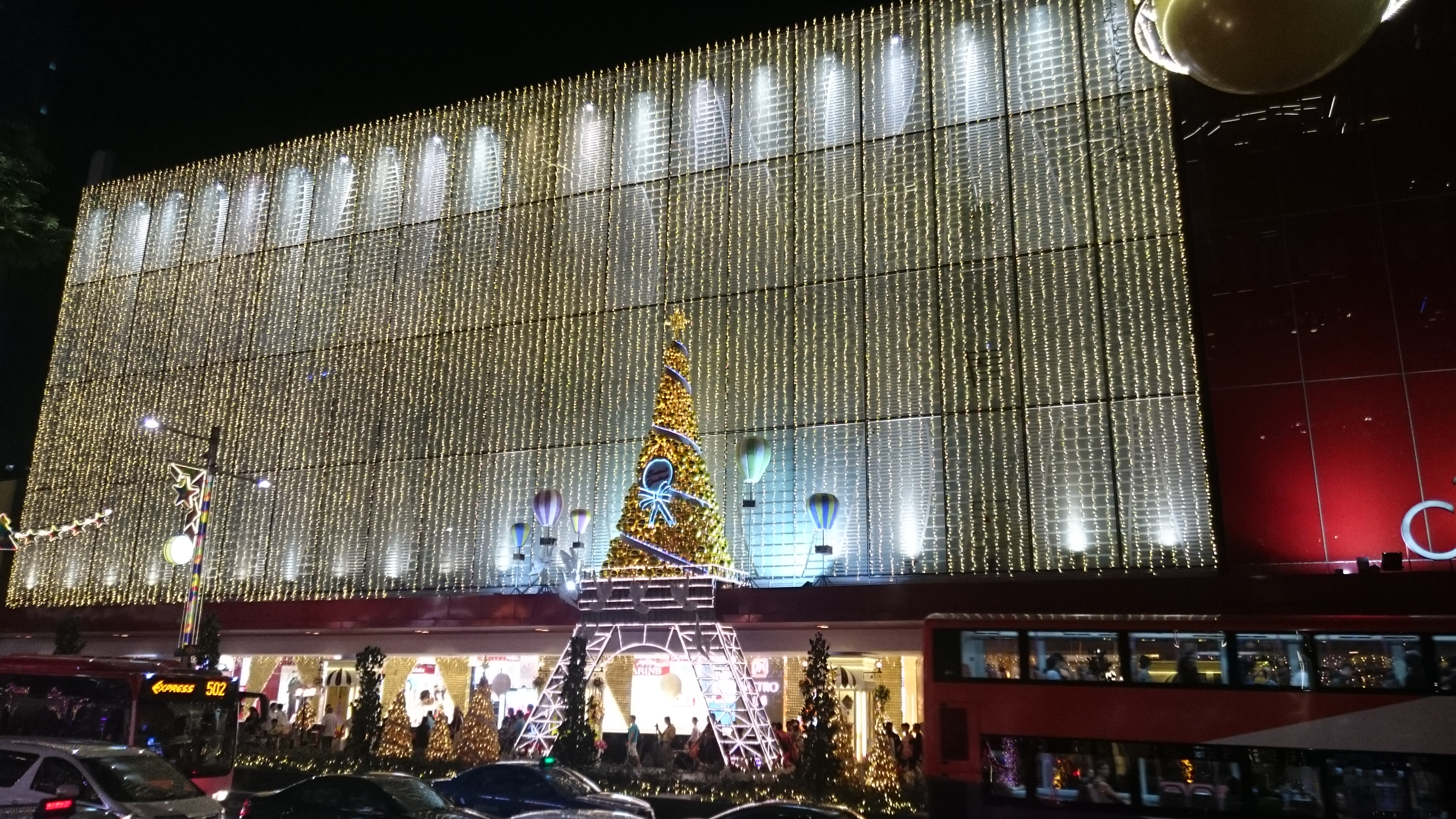 Orchard Centrepoint Xmas Eiffel Tower