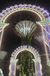 濱海灣花園 Christmas Wonderland 入口處