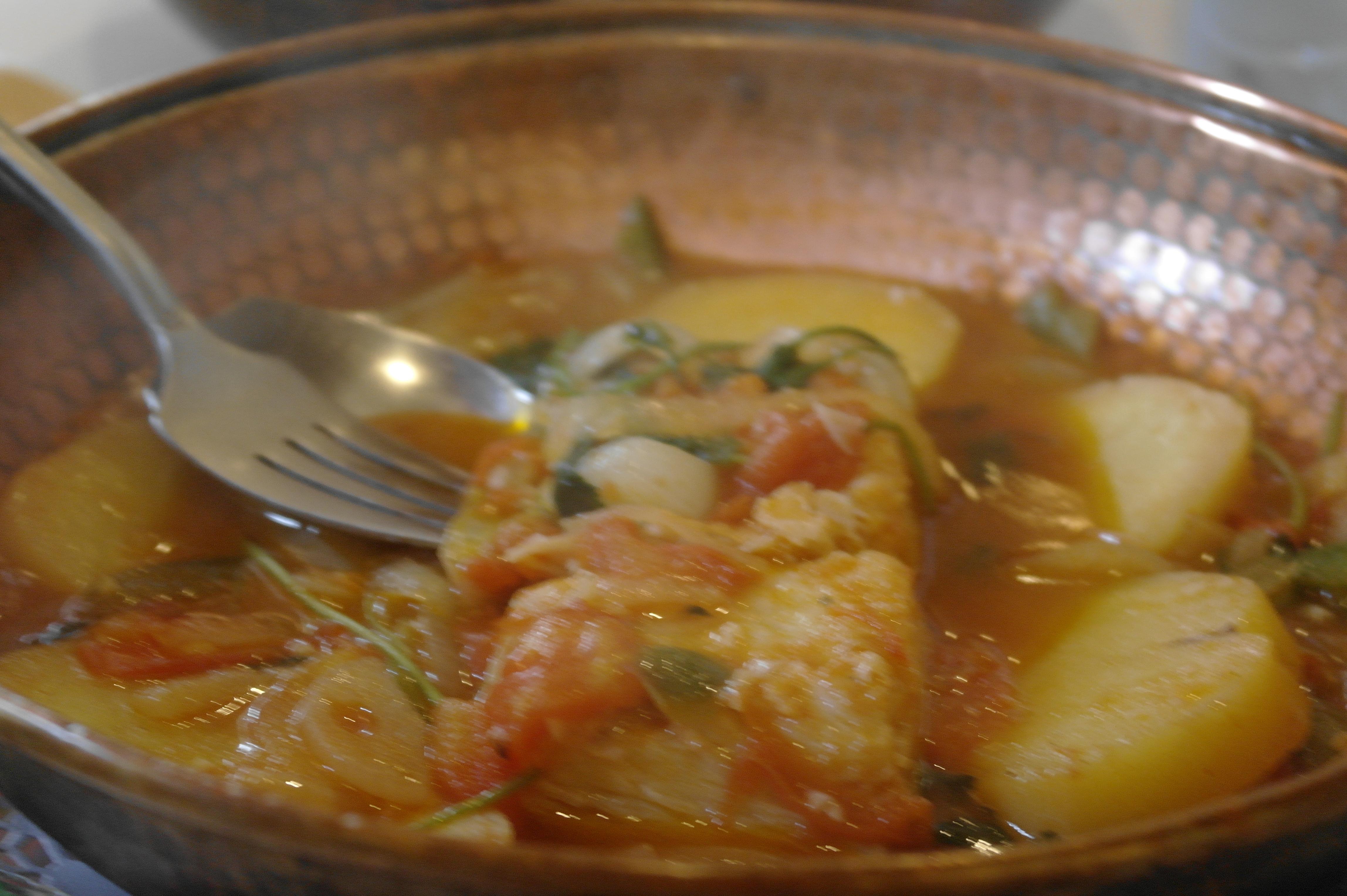 里斯本地帶葡式餐廳馬介休——一種骨蠻多的魚