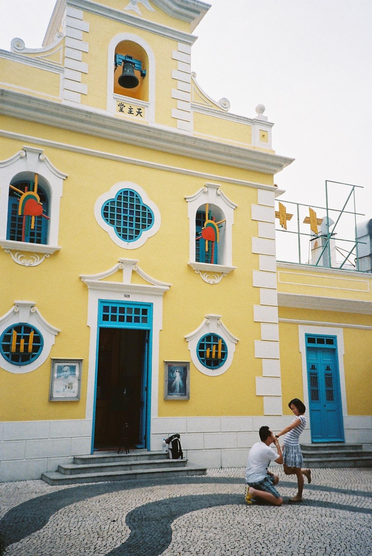 路環聖方濟教堂